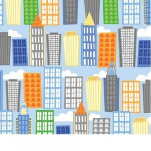 Big City Friends by Wilmington Prints