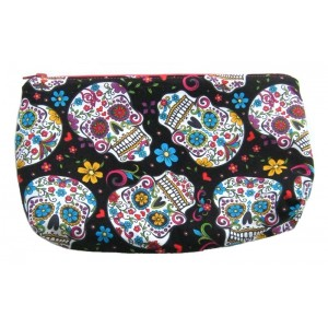 Pouch Colourful Skulls